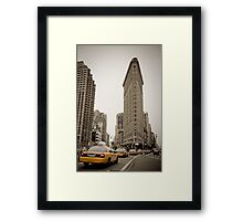 Flatiron Building. New York City. Framed Print