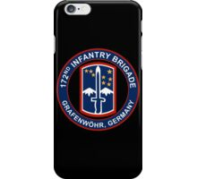 172nd Infantry Grafenwohr iPhone Case/Skin