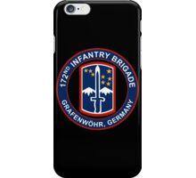 172nd Infantry Grafenwohr iPhone Case/Skin