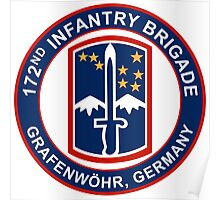 172nd Infantry Grafenwohr Poster