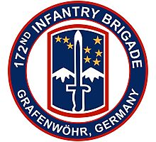 172nd Infantry Grafenwohr Photographic Print