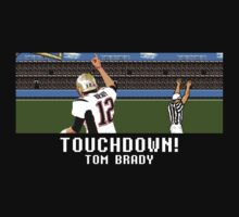Tecmo Bowl Touchdown Tom Brady by av8id