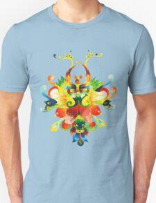 collage style acrylic artwork 1 Unisex T-Shirt