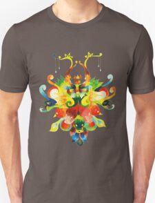 collage style acrylic artwork 1 T-Shirt