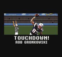 Tecmo Bowl Touchdown Rob Gronkowski T-Shirt
