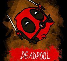 Potato Deadpool by welcomethemadne