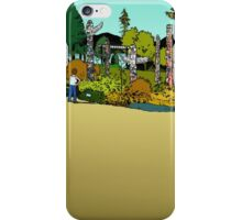 Totems in Stanley Park iPhone Case/Skin