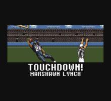 Tecmo Bowl Touchdown Marshawn Lynch by av8id