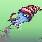 Sockhead Squid by Mary C