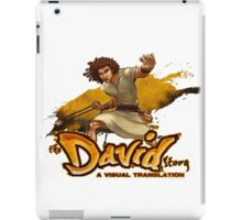 The David Story #1 iPad Case/Skin