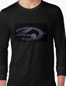 Halo 4 Pixel Logo Long Sleeve T-Shirt