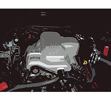 Holden VY Commodore Engine Photographic Print