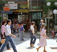 Downtown Sao Paulo, Brazil - 1982 (1) by SteveOhlsen