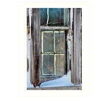 A Window on a Window Art Print