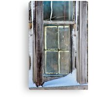 A Window on a Window Metal Print
