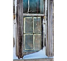 A Window on a Window Photographic Print