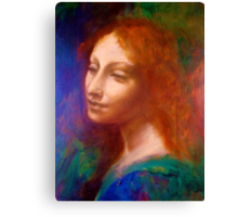 Leonardo's Angel Canvas Print