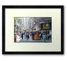 Downtown Sao Paulo, Brazil - 1982 (4) Framed Print