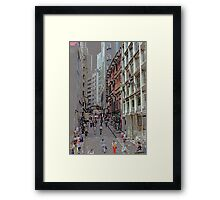 Downtown Sao Paulo, Brazil - 1982 (8) Framed Print