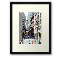 Downtown Sao Paulo, Brazil - 1982 (9) Framed Print