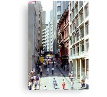 Downtown Sao Paulo, Brazil - 1982 (9) Canvas Print