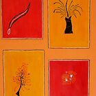 On Country 2007, Acrylic on Stonehedge Paper, 2007 by bidjara