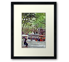 Downtown Sao Paulo, Brazil - 1982 (6) Framed Print