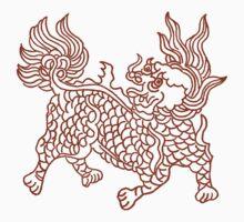 Chinese Art Beast by Zehda