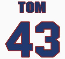 National baseball player Tom Davey jersey 43 by imsport