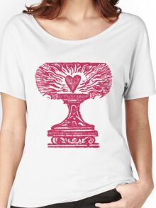 Red Heart Flame Women's Relaxed Fit T-Shirt