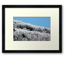 Salt & Pepper Hills Framed Print