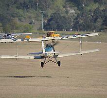 Tiger Moth VH-RVE, Luskintyre Airfield, Australia 2014 by muz2142