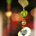 follow your heart glass sun catcher photo by Karol Franks