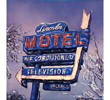 Lincoln Motel Photographic Print