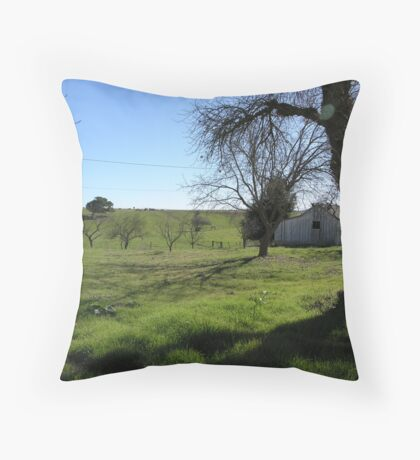 Bunkhouse Spooky Tree Throw Pillow