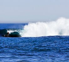 Shark Island - Cronulla - The Drop by Dave Reid