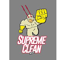 Supreme Clean Photographic Print