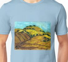California Hills In Summer(Fields Of Gold) Unisex T-Shirt