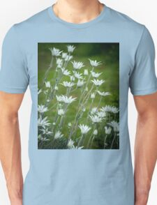 Blooming Flannel Flowers T-Shirt