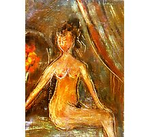 Brown Nude 2 Photographic Print