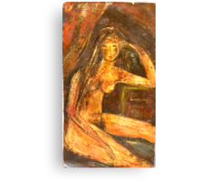 Brown Nude Canvas Print