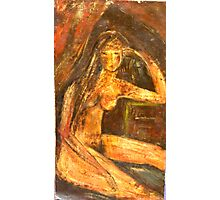 Brown Nude Photographic Print