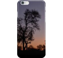Namibia,after sunset. iPhone Case/Skin