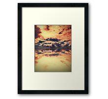 Heaven's New Hell Framed Print