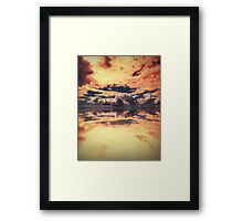 Heaven's New Hell Framed Print