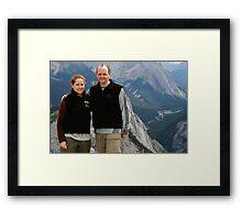 Sulphur Mountain Framed Print