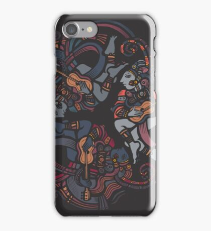 Aztec mantra iPhone Case/Skin