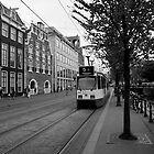 Tram Line Number Five by Arie Intveld