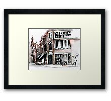French pie Framed Print