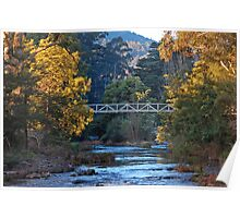 The Yarra River at Warburton Poster